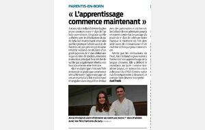 Article Sud-Ouest Alice Rolland